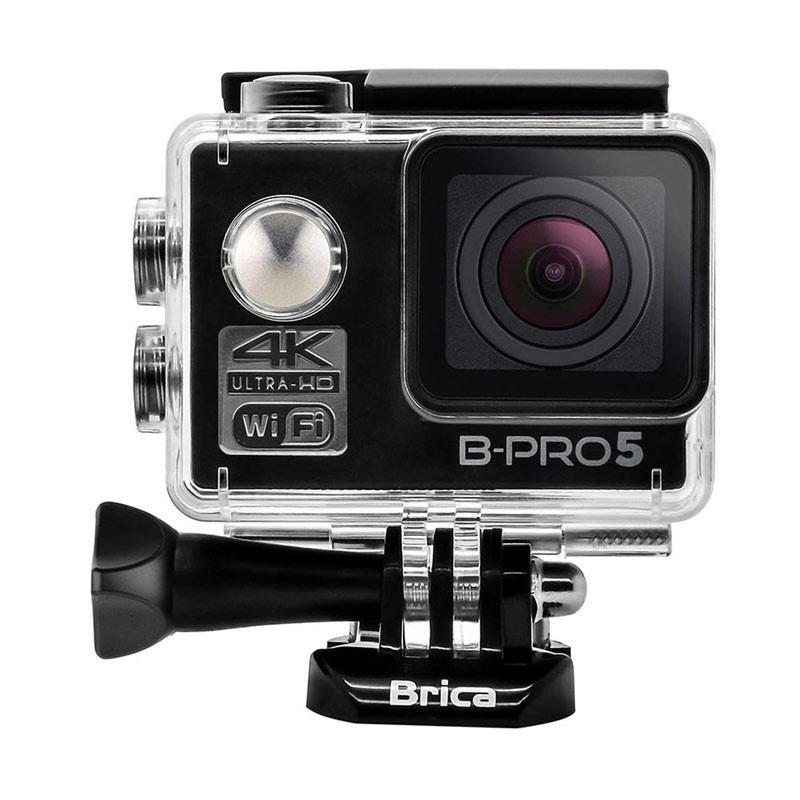 Brica B-PRO 5 Alpha Edition Mark II AE2 Combo Supreme Paket Action Camera - Hitam