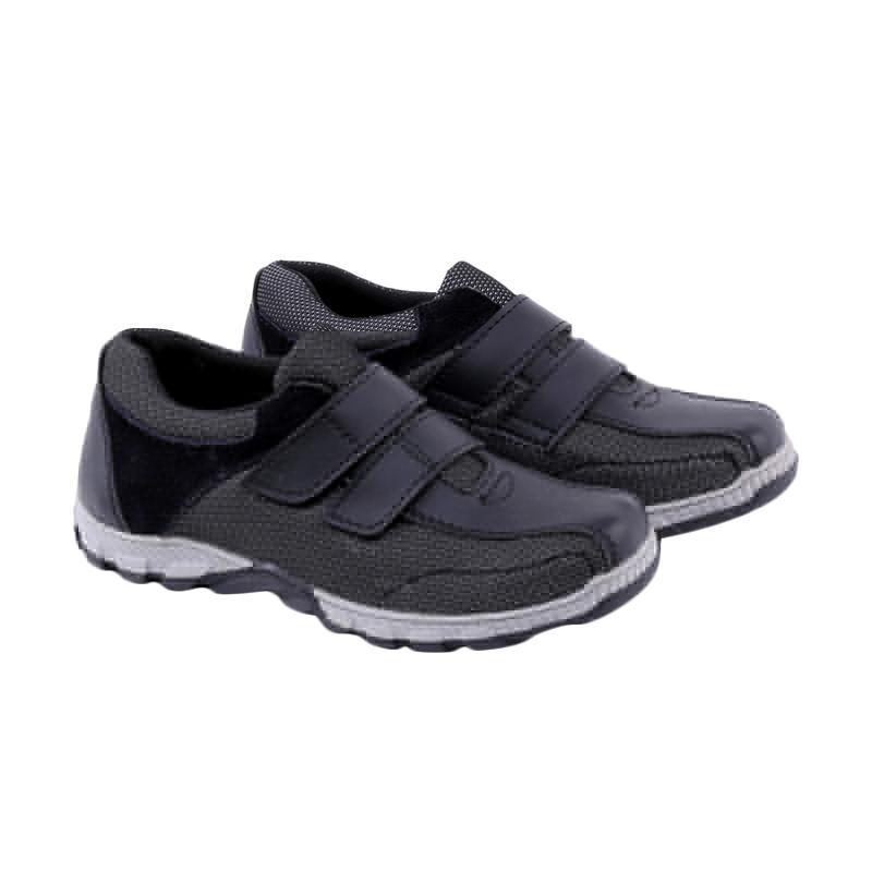 Garucci GRN 9095 Sepatu Kasual Anak Laki-Laki - Black