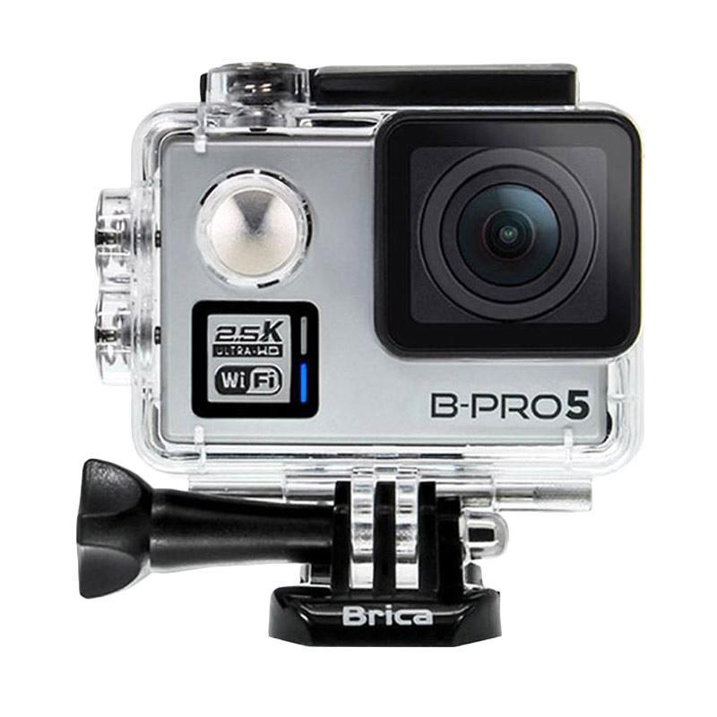 Brica B-PRO 5 Alpha Plus Version 2 AP2 Combo 3 Way Supreme Action Camera - Silver