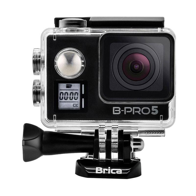Brica B-PRO 5 Alpha Edition Mark IIS AE2S Combo Attanta Berrisom Action Camera - Hitam