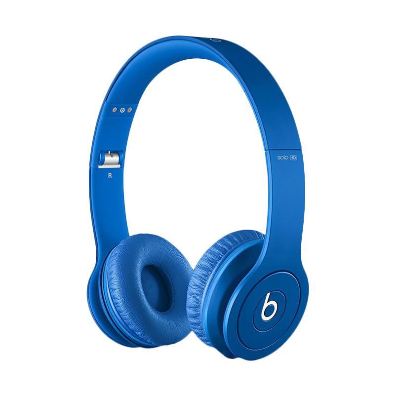 Beats Solo HD Wired On-Ear Headphone - Matte Blue