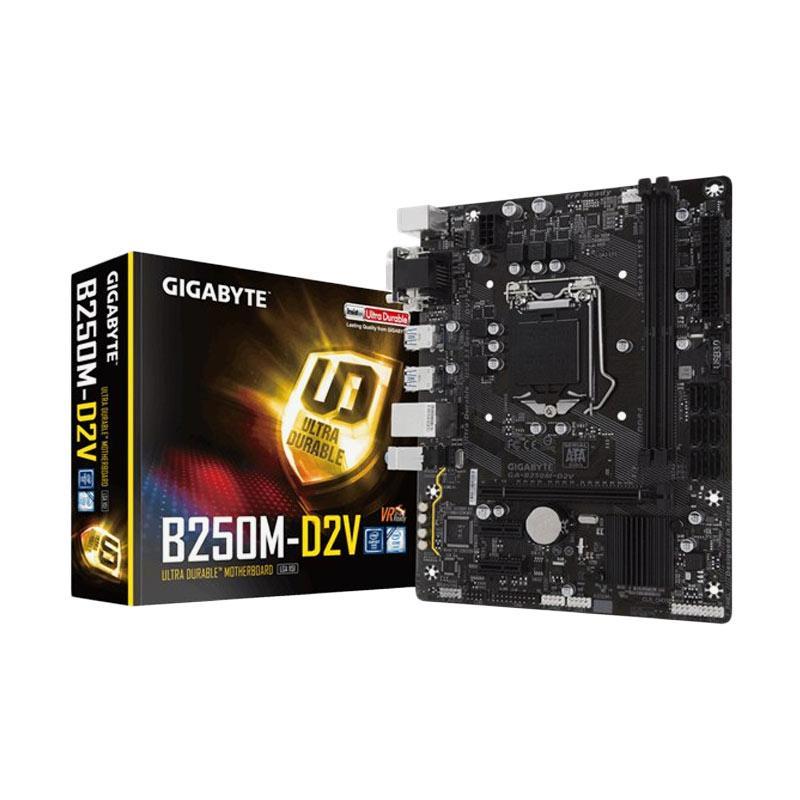 Gigabyte B250M-D2V LGA 1151 Motherboard [DDR4/Intel B250]