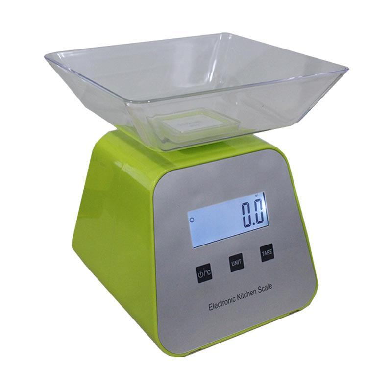 harga New Year Sale Nankai Timbangan Duduk Mini Digital [5 kg] Hijau Blibli.com