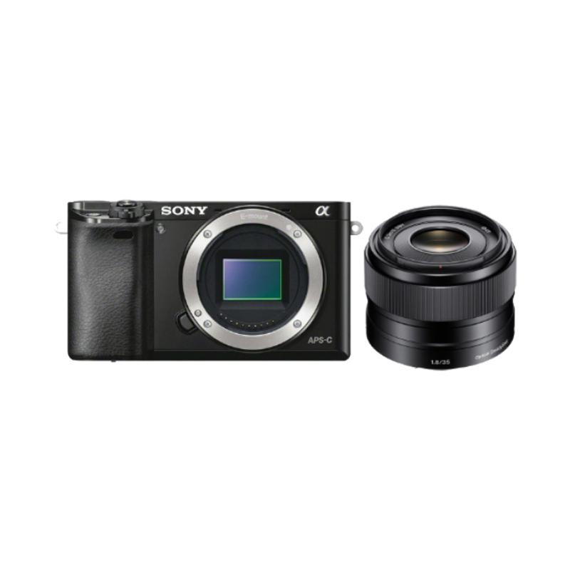 Sony Alpha A6000 Kamera Mirrorless Special Package with SEL35F18