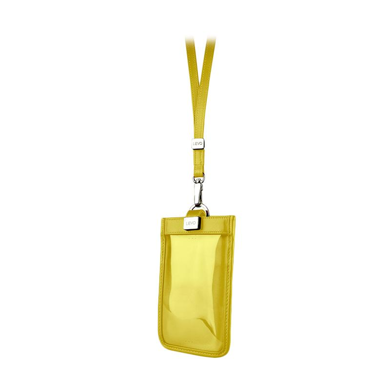 LIEVO Touch - Strap Pouch - Yellow [5.7 Inch]