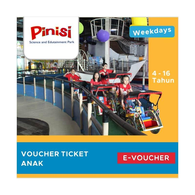 Pinisi Science and Edutainment Park E-Voucher [Anak/Weekday]