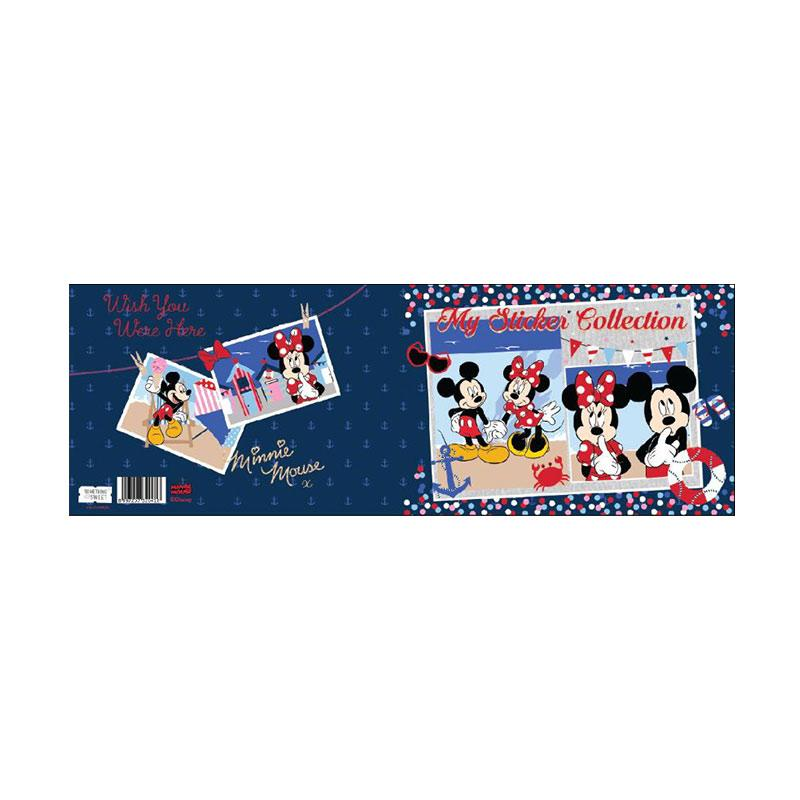 Something Sweet STB 2115-MK003 Mickey & Minnie Beach Wish You Were Here Sticker Book
