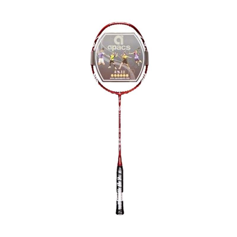 Apacs Blend Duo Raket Badminton - Red