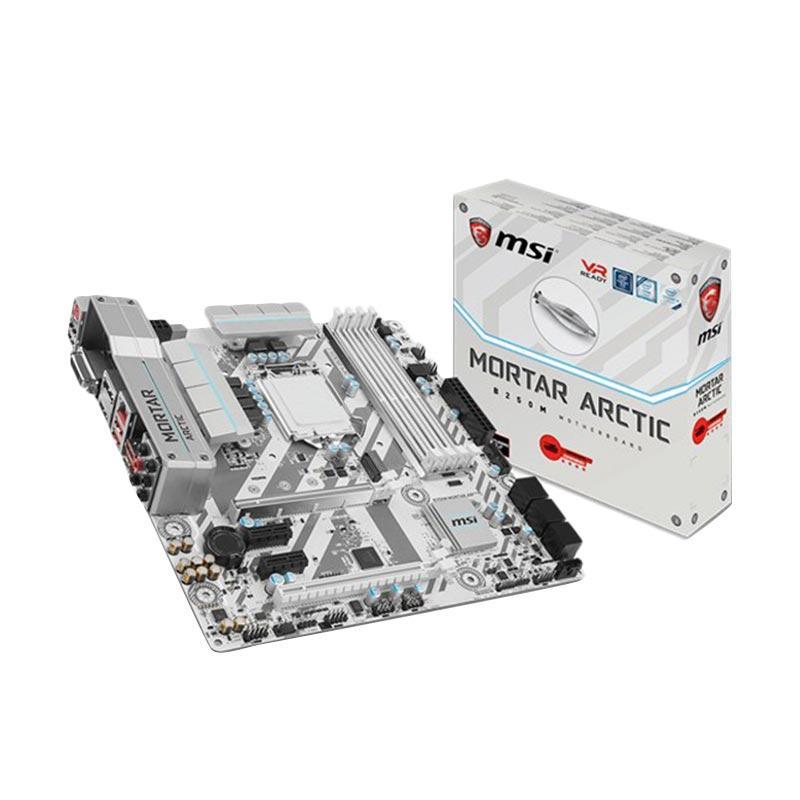 MSI B250M Mortar Arctic LGA 1151 Intel B250 Motherboard