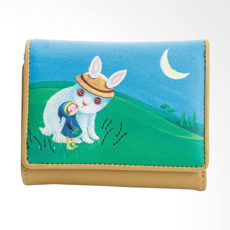 IPC Mansion Selected JIMMY Moonlight Rabbit Short Purse Dompet Wanita