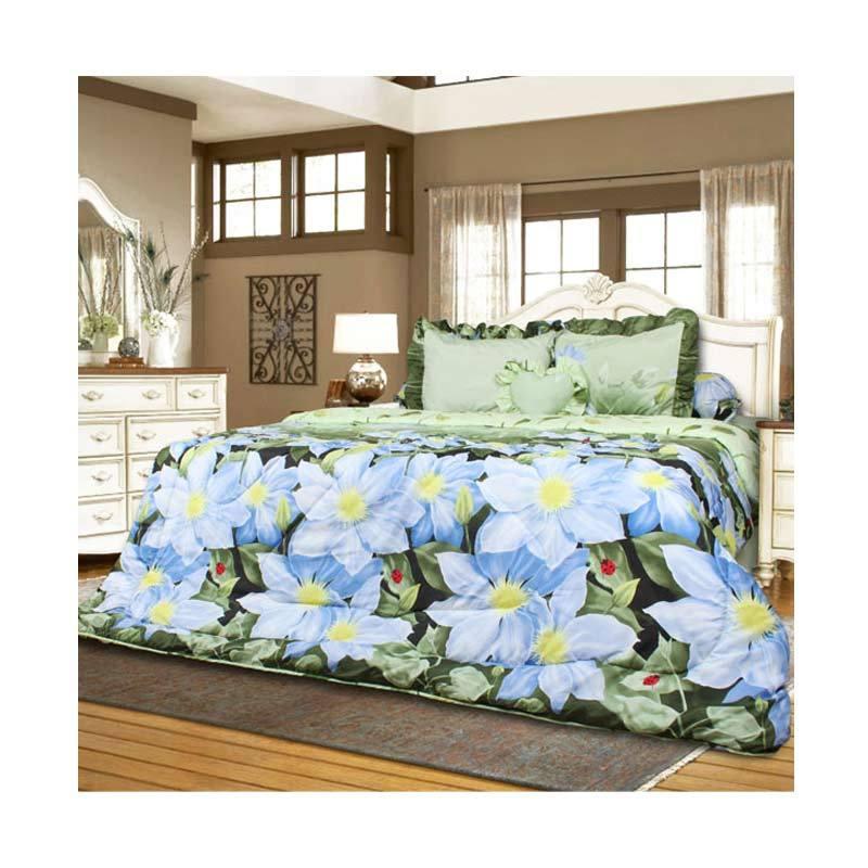 California Motif Marinka Bed Cover Set [180 x 200 cm]