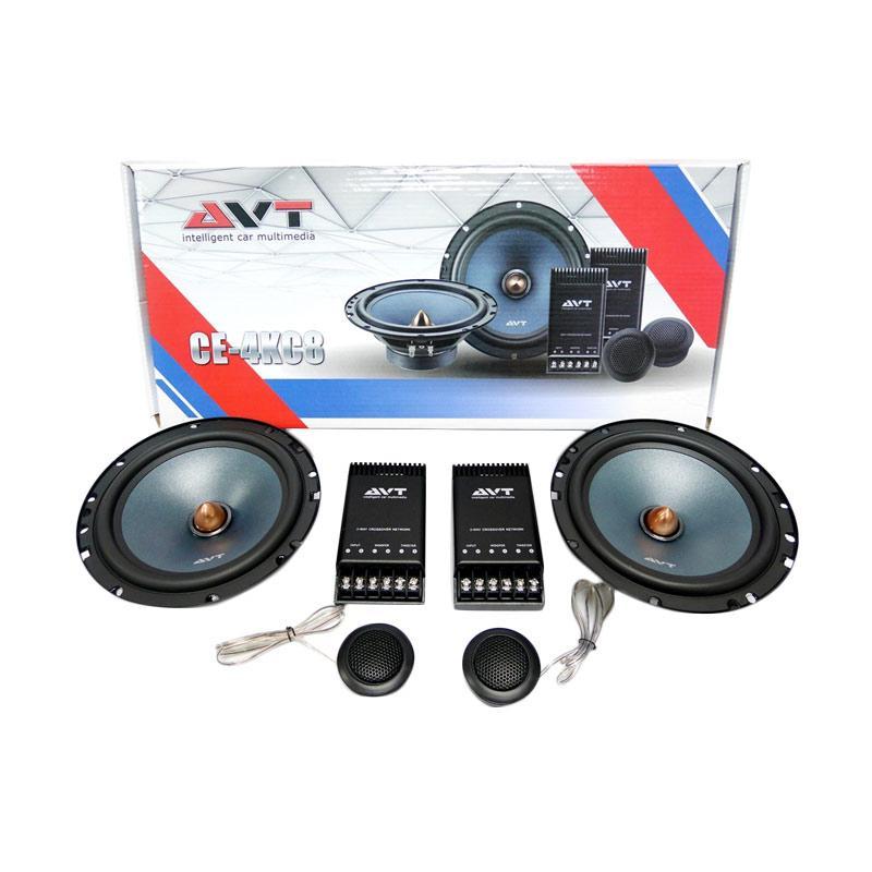 AVT CE4KC8 Speaker Split Car Audio System [6 Inch]