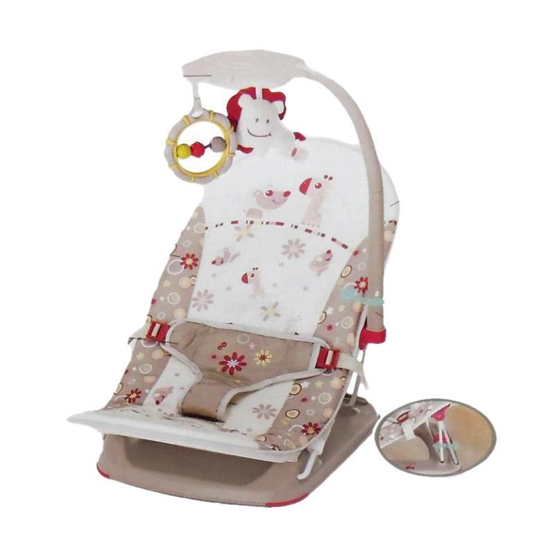harga Mastela Fold Up Infant Seat Bouncer - Coklat Blibli.com