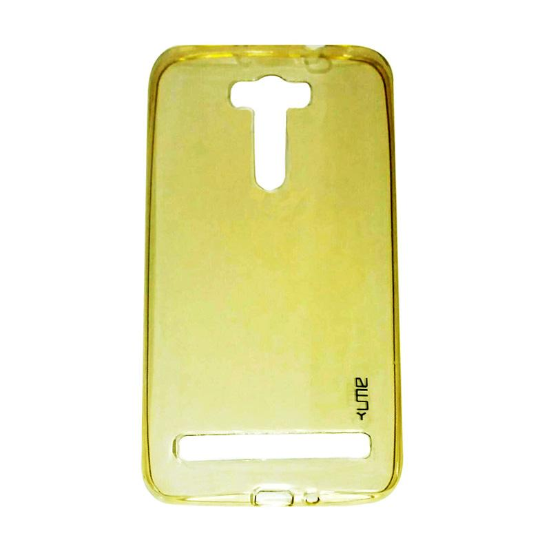 Ume Ultrathin Silicone Jelly Softcase Casing for Asus Zenfone Selfie ZD551KL - Kuning