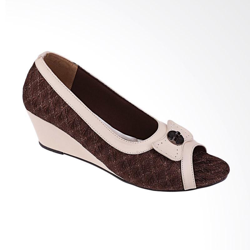 Syaqinah 117 Sepatu Wedges Wanita