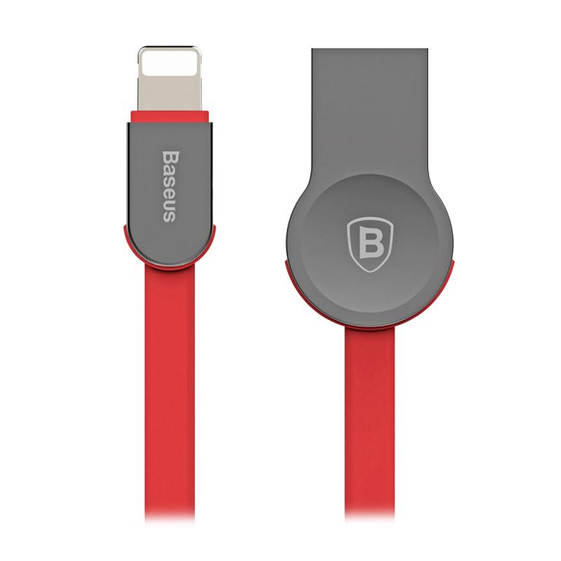 Baseus Keyble Zinc Alloy Lightning Cable for Apple - Red [1 m]