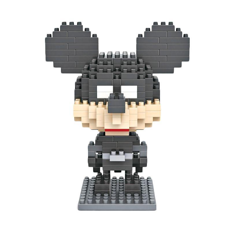 Loz Gift Large 9418 Batman Mickey Mainan Blok & Puzzle