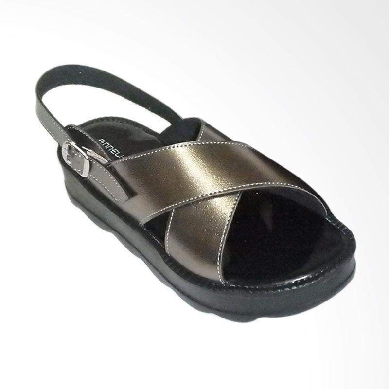 Anneliese Bella Sepatu Wedges Wanita - Grey