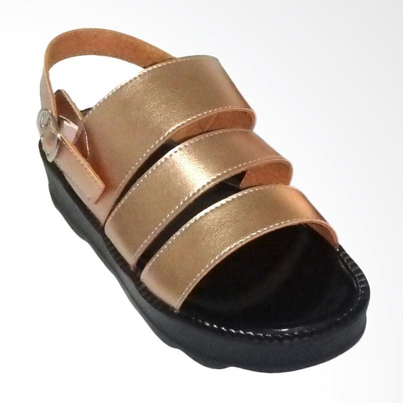 Anneliese Bella 3 Sepatu Wedges Wanita - Rose Gold