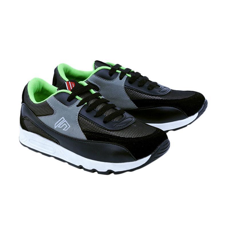 Garsel GDA 9503 Sneakers Shoes Sepatu Anak Laki-Laki - Hitam
