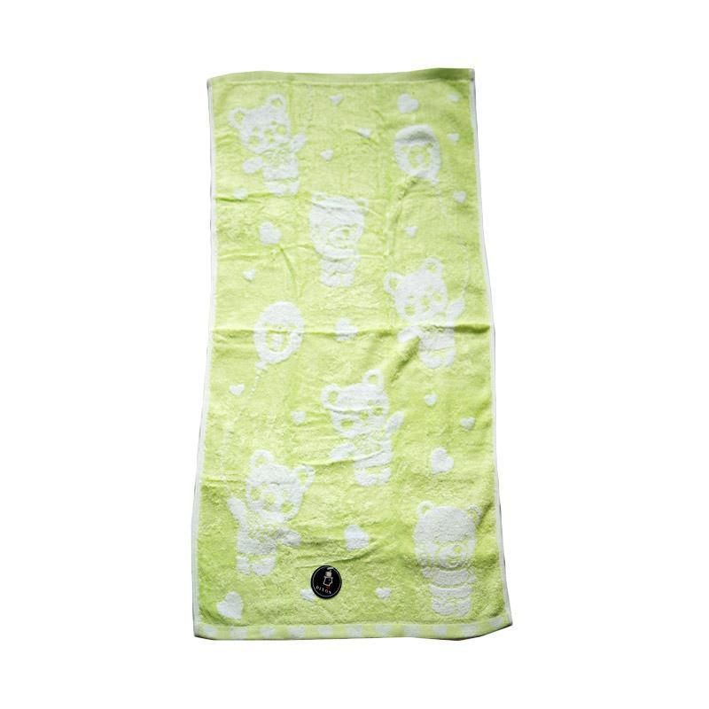 Dixon Bear Baloon 7082 Handuk Sport - Green [35 x 80 cm]