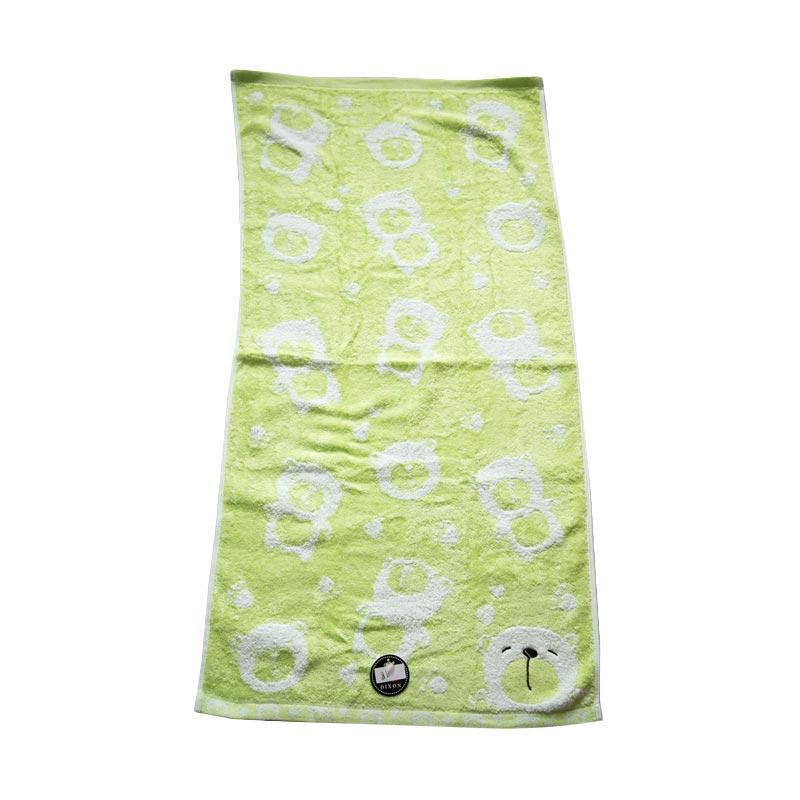 Dixon Smile Bear 7083 Handuk Sport - Green [35 x 80 cm]
