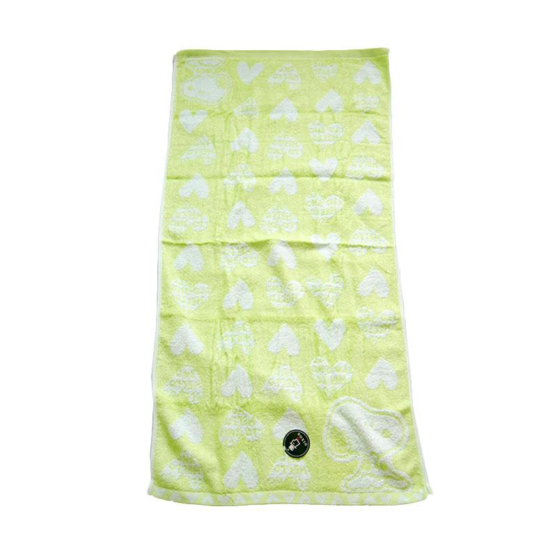 Dixon Snoopy Heart 7084 Handuk Sport - Green [35 x 80 cm]
