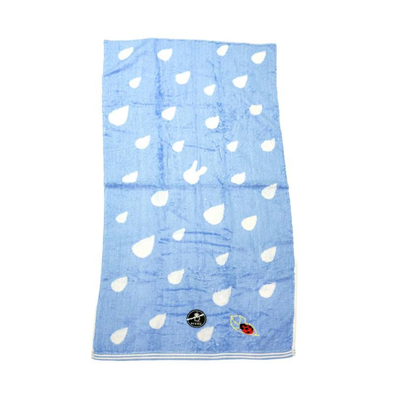 Dixon Lady Bug Embroidery 7086 Handuk Mandi - Blue [60 x 120]