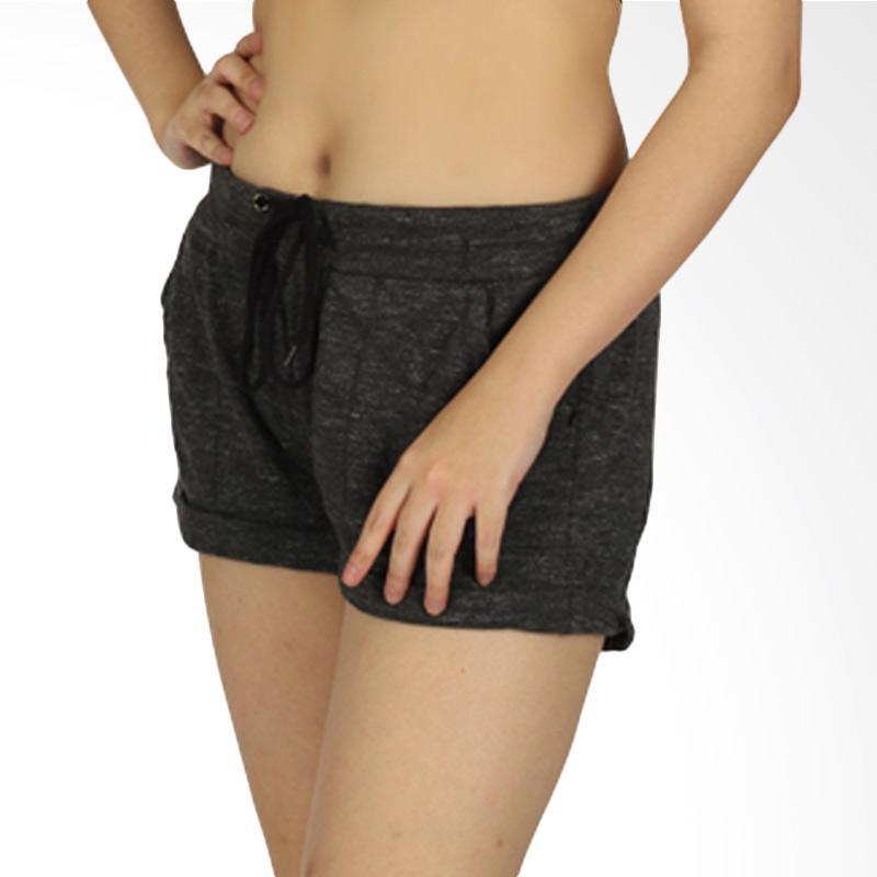 Banana Republic Bourn Short Pant Celana Pendek Olahraga Wanita - Black Misty [BNR001]