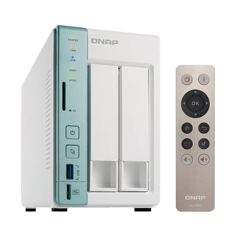 QNAP TS-251A NAS Server External Storage [2GB RAM/ 2-Bay]