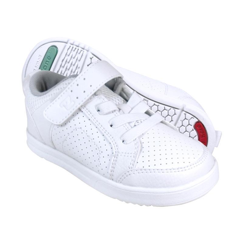 Toezone Kids Wilbur Ch Sepatu Anak Laki laki - White