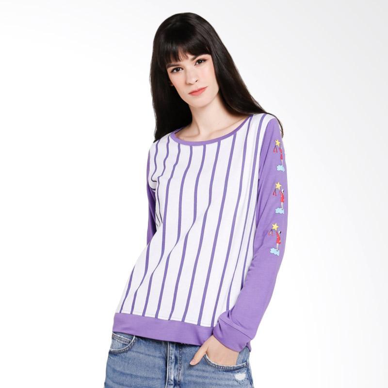 Cressida TYSC.862351 Ladies Sweatshirt Atasan Wanita - Purple