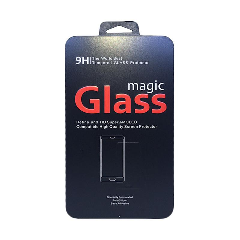 Magic Glass Premium Tempered Glass 4D Full Cover Screen Protector for iPhone 6 or iPhone 6S - Black