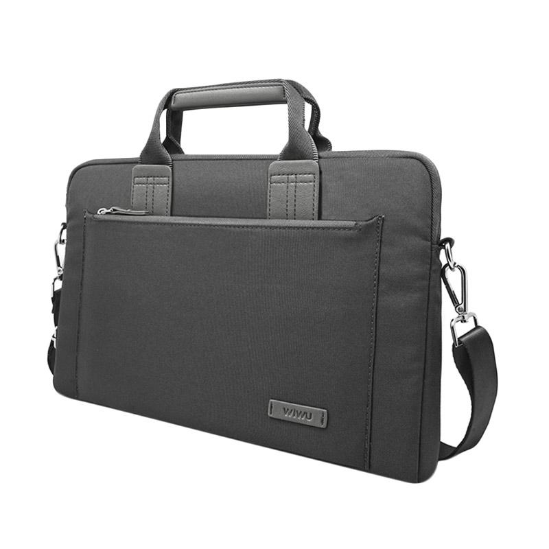 Gearmax Original Wiwu Premium ROFI-1708MB13 Walker Elite Tas Laptop 13.3 Inch - Grey