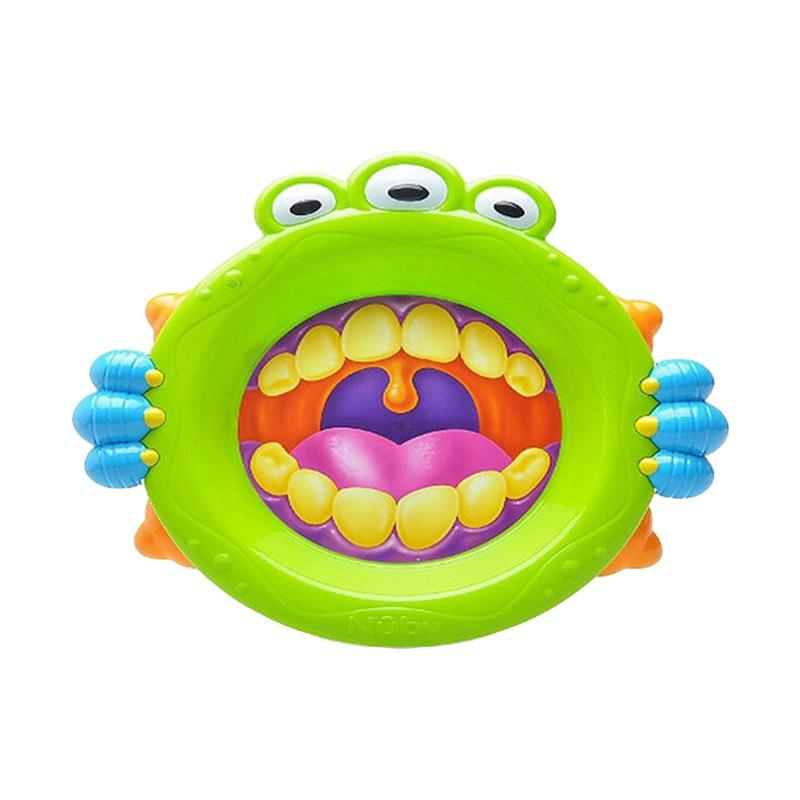 Nuby Monster Baby Plate Green
