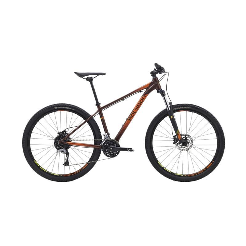 harga Polygon Premier 5.0 Sepeda - Brown Orange [27.5 Inch] Blibli.com
