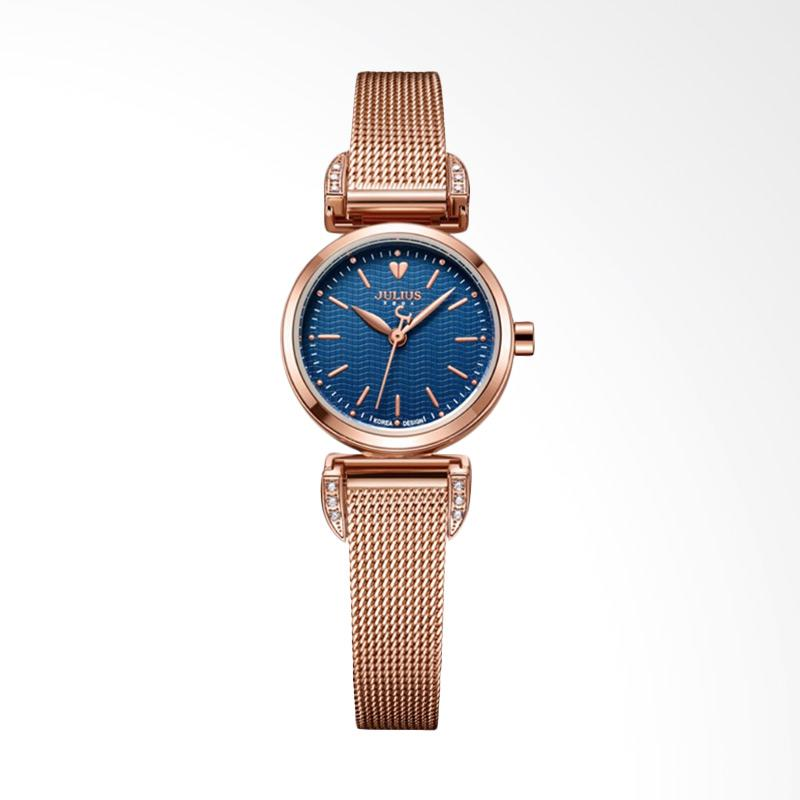 Julius JA-971-D Jam Tangan Wanita - Rose Gold Blue