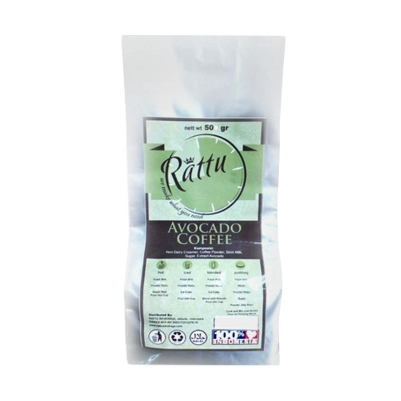 Rattu Beverage Avocado Coffe Minuman Instan [500 g]