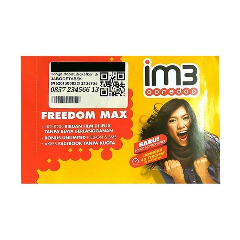 Indosat Im3 Chip 3G Nomor Nomor Cantik 0857 234566 13 Kartu Perdana