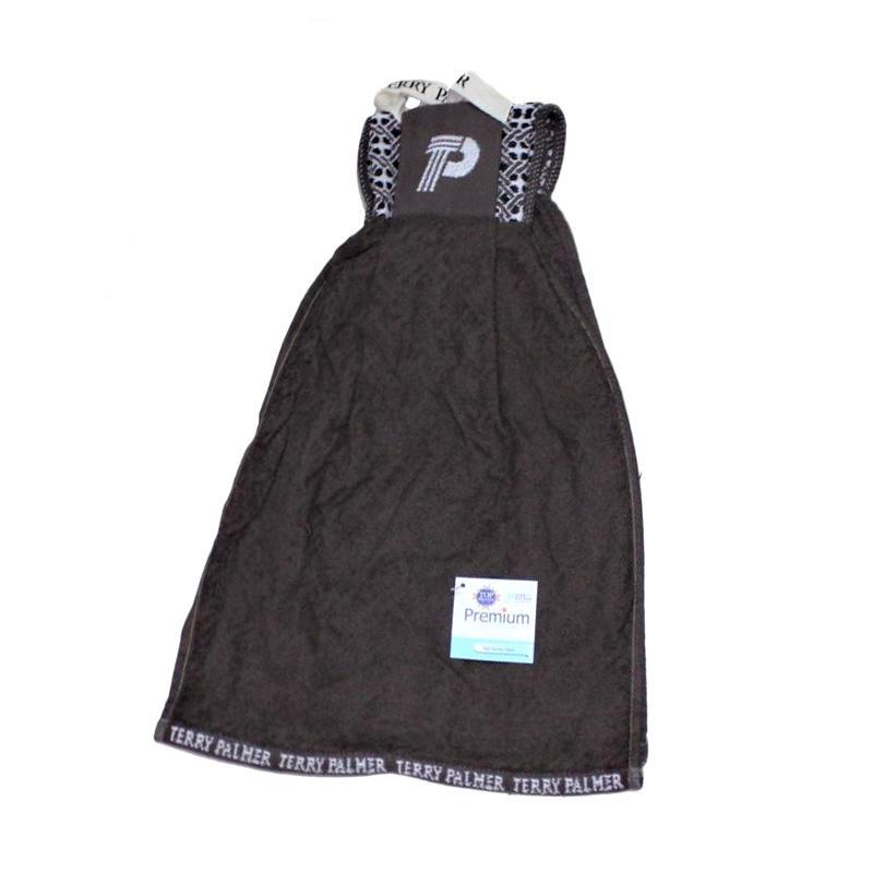 Terry Palmer Premium 14 Serbet Handuk - Coklat [34 x 100 cm]