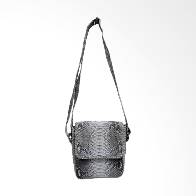 Ratu Piton Simple Kulit Ular Sling Bags