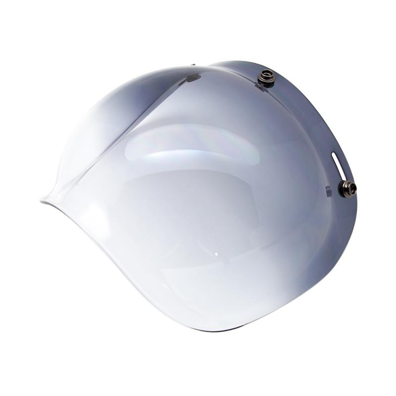 Boulter Helmet Bubble Shield Visor - Gradient Smoke