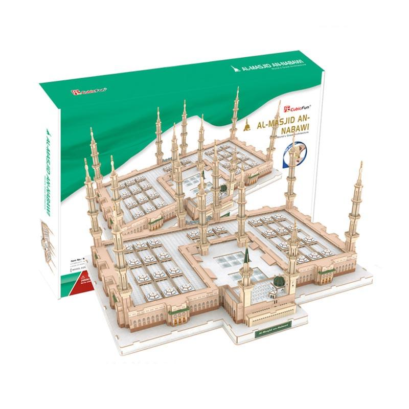 harga Cubicfun MC223h 3D Al-Masjid An-Nabawi Puzzle Blibli.com