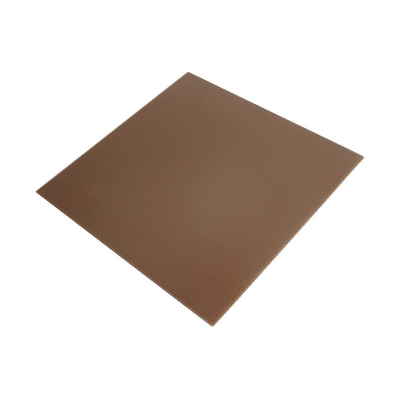 Titan Baking Kotak Tatakan Kue - Coklat [30 cm] isi 12 pcs