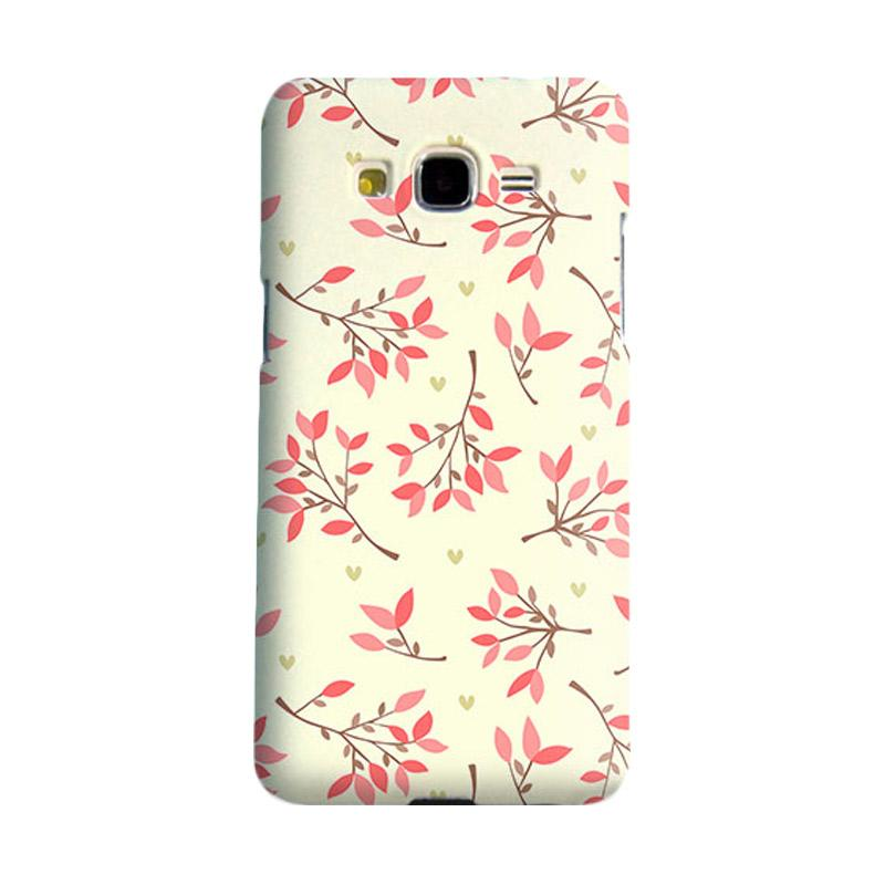 Premiumcaseid Cute Floral Seamless Shabby Hardcase Casing for Samsung Galaxy Grand Prime