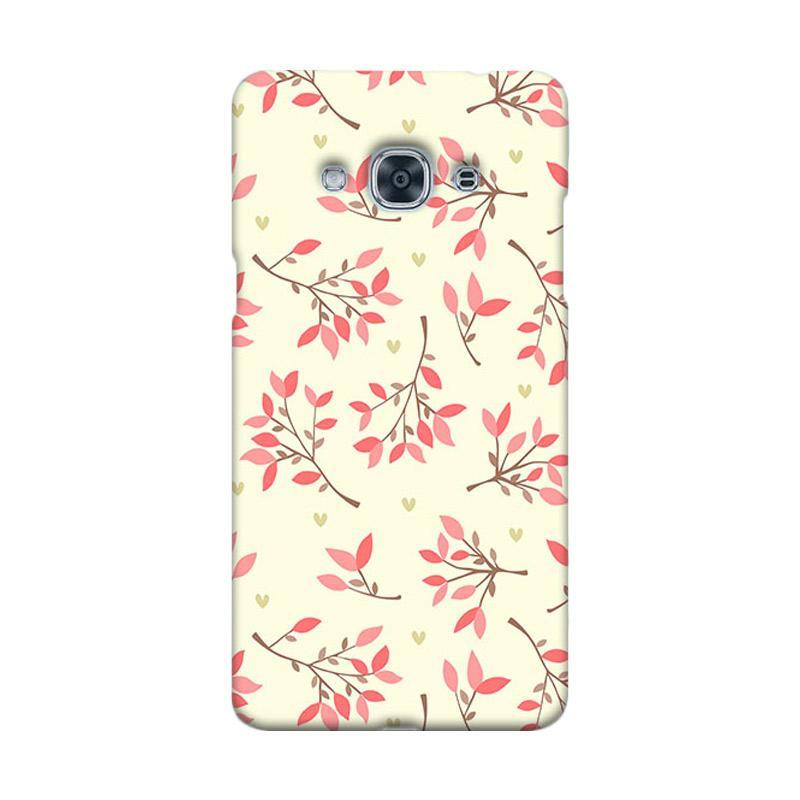 Premiumcaseid Cute Floral Seamless Shabby Hardcase Casing for Samsung Galaxy J3 Pro
