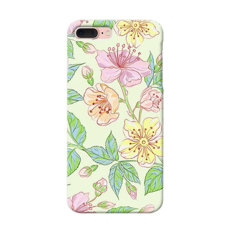 Premiumcaseid Beautiful Flower Wallpaper Hardcase Casing for iPhone 7 Plus