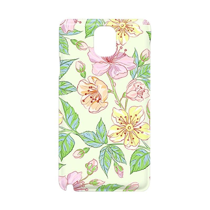 Premiumcaseid Beautiful Flower Wallpaper Hardcover Casing for Samsung Galaxy Note 3