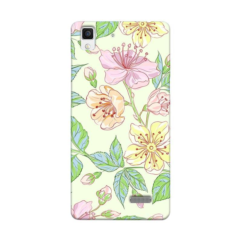 Premiumcaseid Beautiful Flower Wallpaper Hardcase Casing for Oppo R7