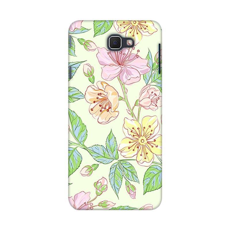 Premiumcaseid Beautiful Flower Wallpaper Hardcover Casing for Samsung Galaxy J5 Prime